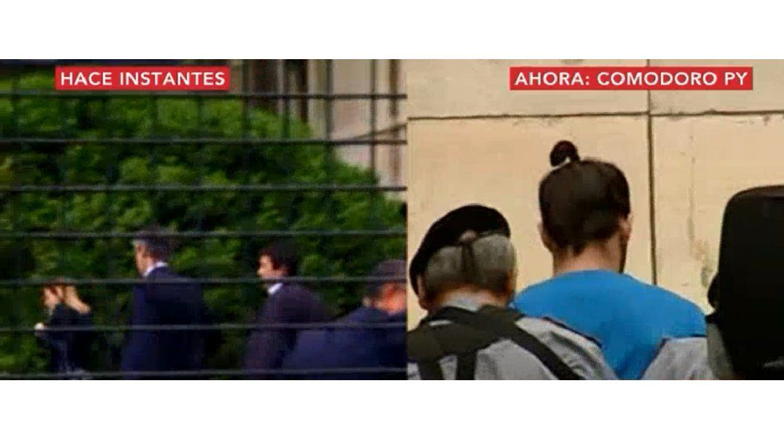 Rossi presentó un escrito y Fariña permanece en Comodoro Py