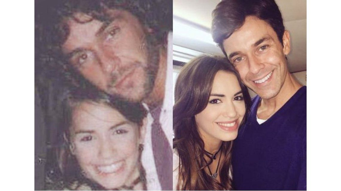 La historia detrás de la foto vintage de Mariano Martínez y Lali Espósito