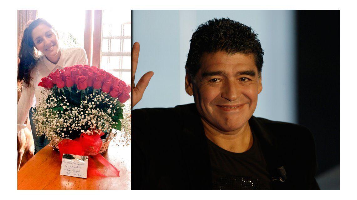 El emotivo mensaje de Diego Maradona a Jana por su cumpleaños: Por todos los años que no estuve