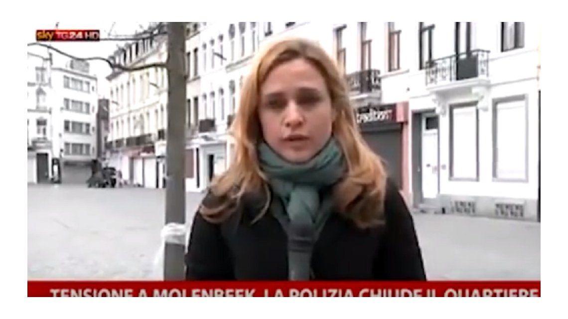 VIDEO: Agredieron a una periodista en pleno noticiero