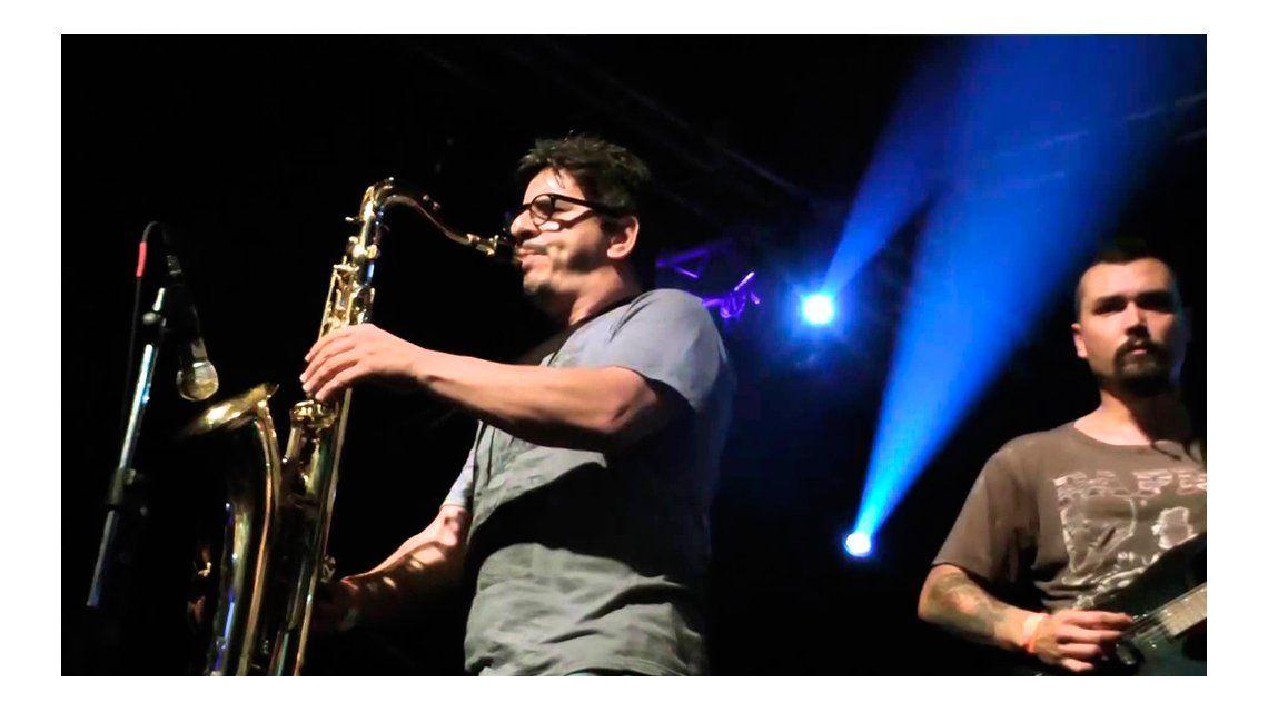 AUDIO| El ex saxofonista de Callejeros, antes de ir a prisión: Espero que podamos salir rápido