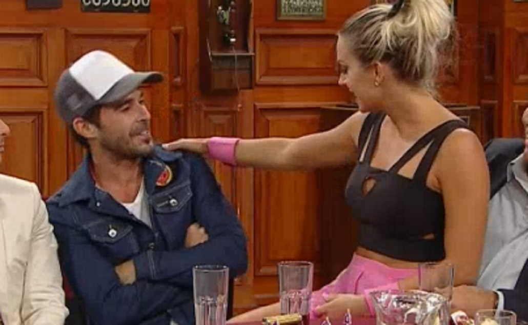 Polémica en el bar: desopilante histeriqueo entre Nicolás Cabré y Noelia Marzol
