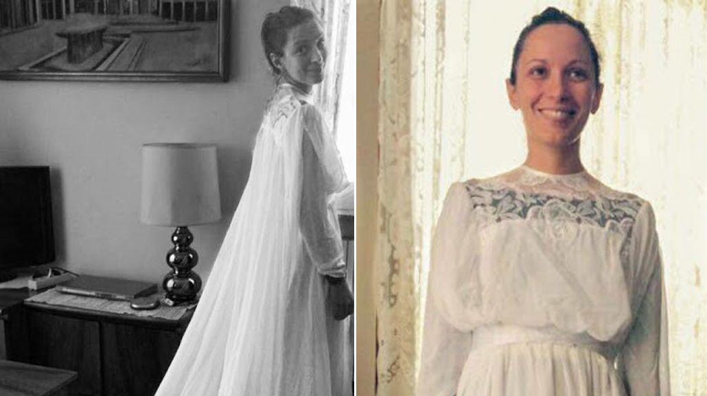 Vino desde Italia a casarse, le robaron el vestido y ahora lo busca por las redes sociales