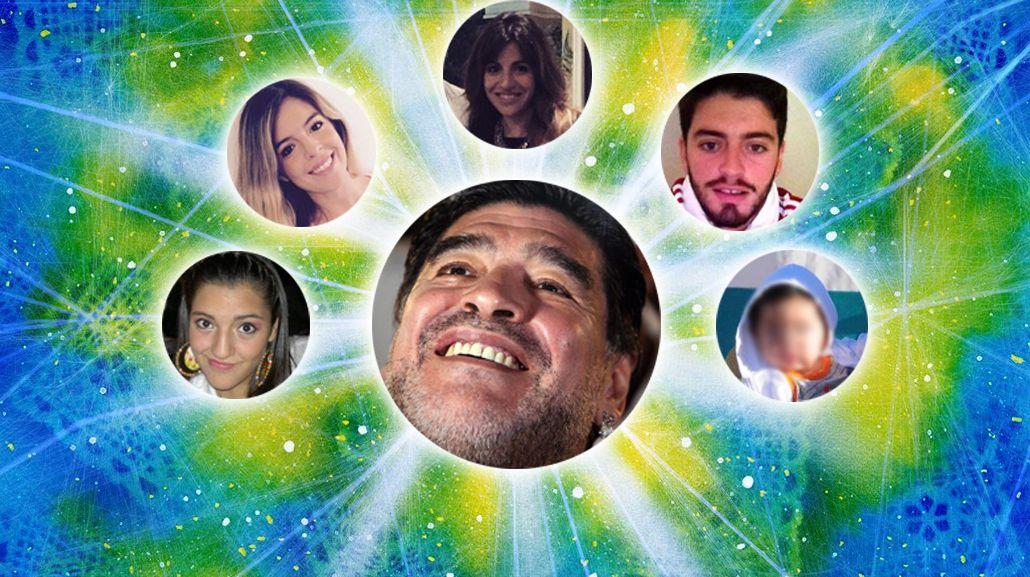 Diego Maradona consiguió anular un testamento que beneficiaba a Giannina y Dalma