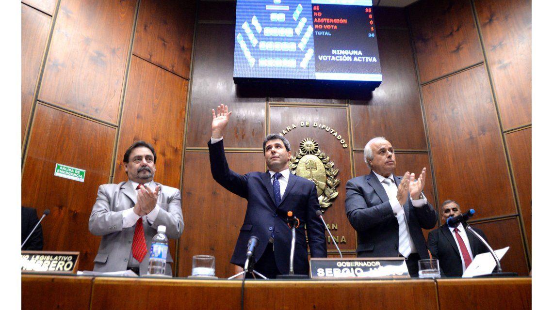 Uñac inauguró un nuevo período de sesiones ordinarias de la Legislatura provincial