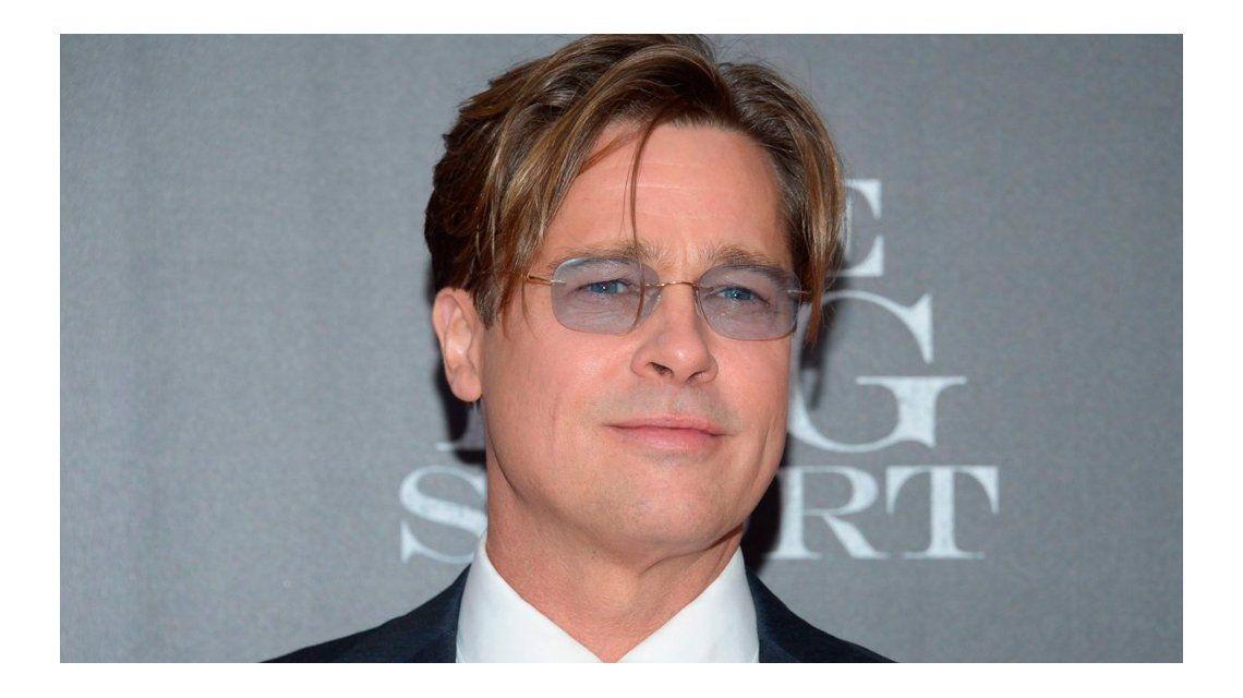 Una cantante rechazó el esperma de Brad Pitt