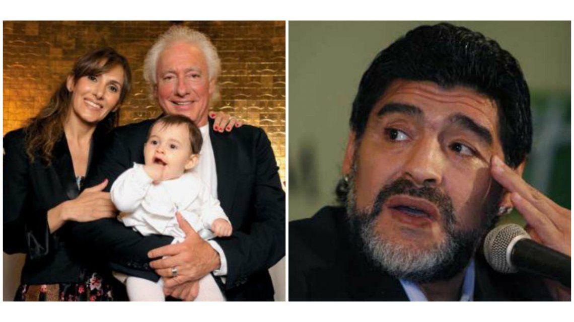 La respuesta de Maradona a Cóppola por la invitación a su casamiento