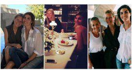 Gwyneth Paltrow, junto a la modelo Blaquier y Monteverde en Buenos Aires