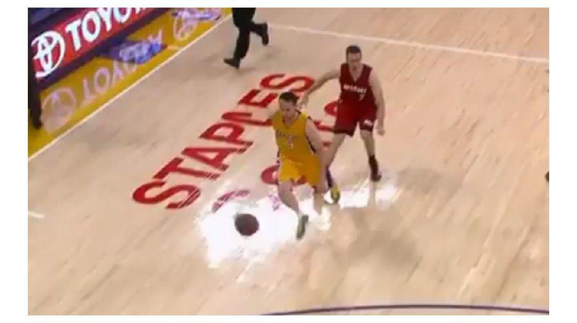 La avivada de un brasileño que sorprendió a todos en la NBA