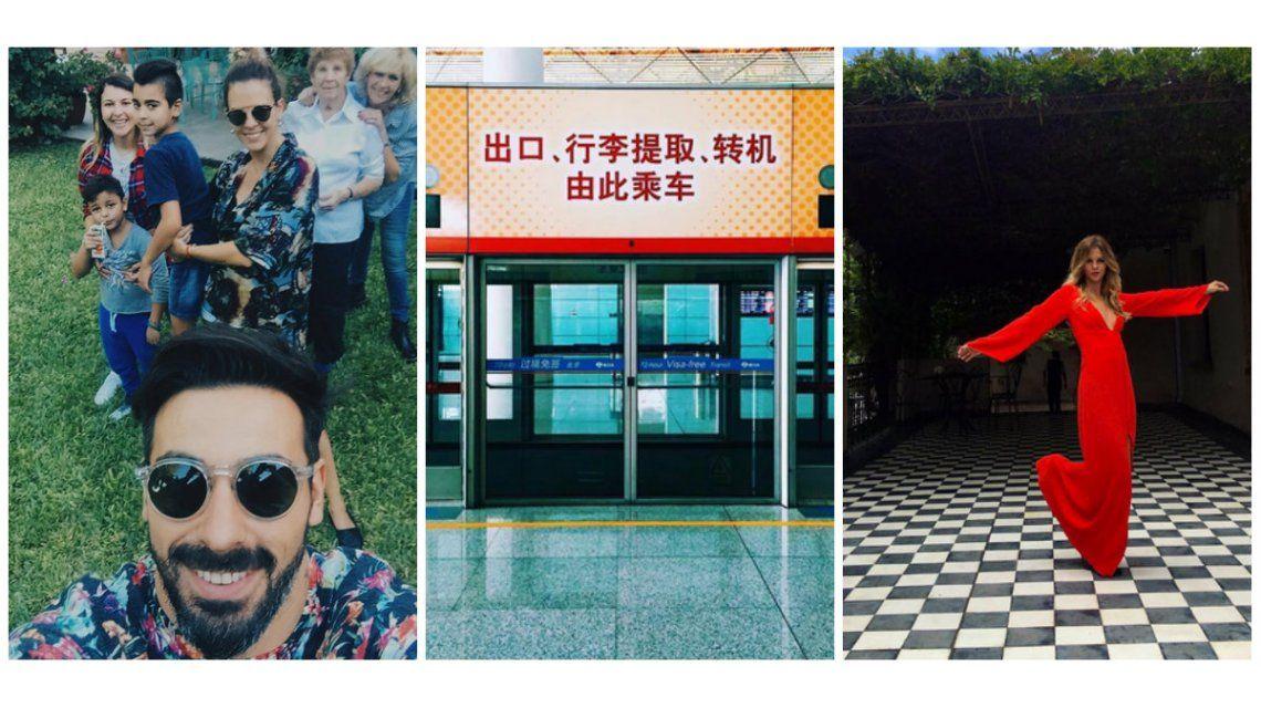 Yanina Screpante se instaló en China con Ezequiel Lavezzi: New home