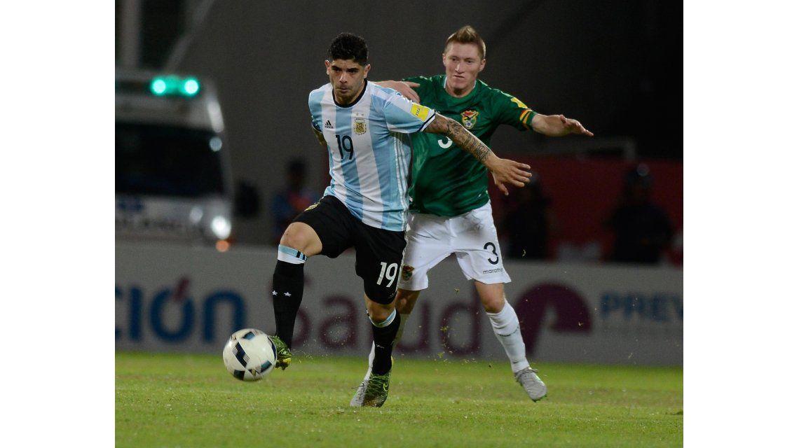 Las fotos del triunfo de Argentina ante Bolivia