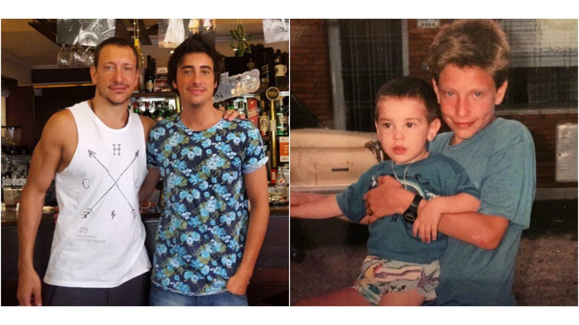 El mensaje de Nico Vázquez a su hermano Santiago por su cumpleaños