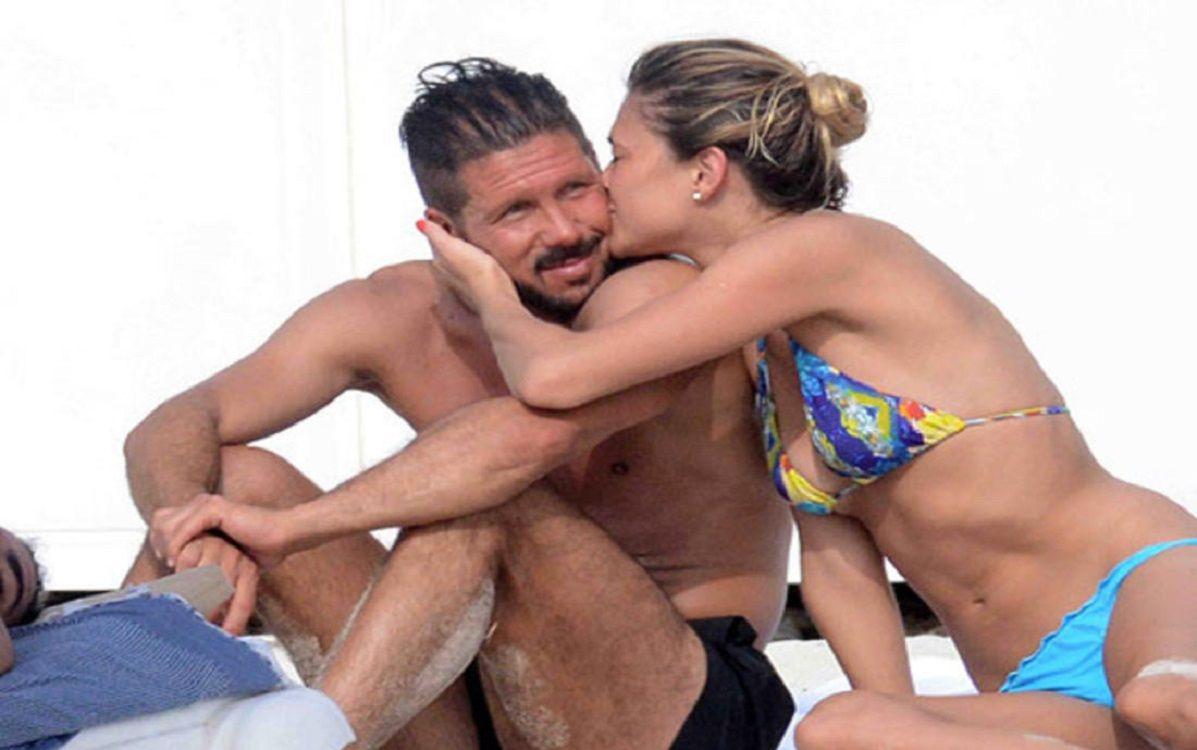 Diego Simeone será padre junto a su pareja Carla Pereyra