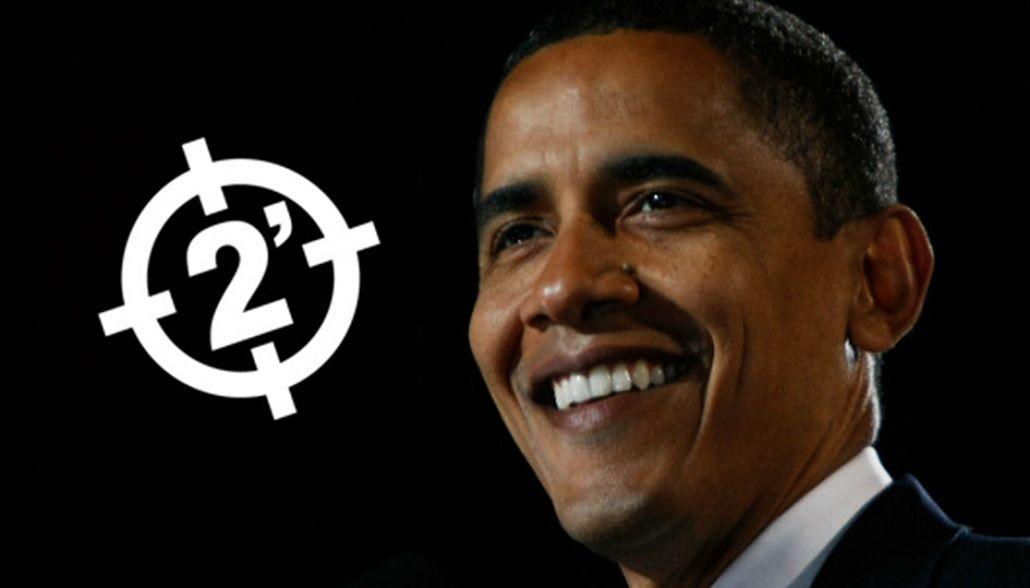 Insólito: Obama cantando el clásico sos buchón de Dos Minutos
