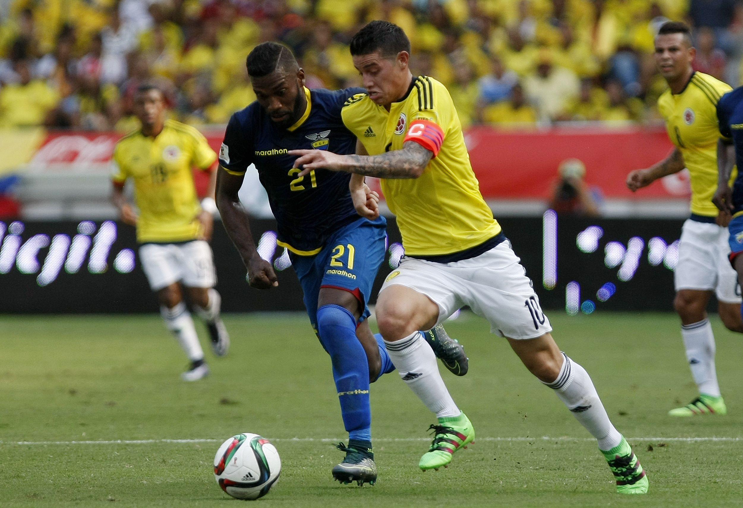 La Colombia de Pekerman venció a Ecuador y le sacó el invicto en las Eliminatorias