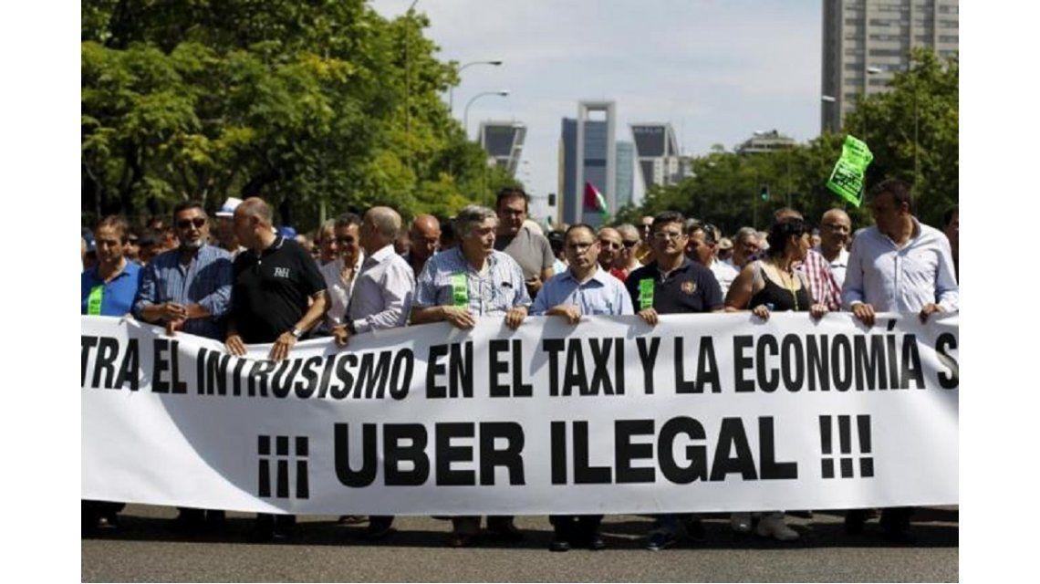 Después de un año sin operar en España, Uber volvió a Madrid