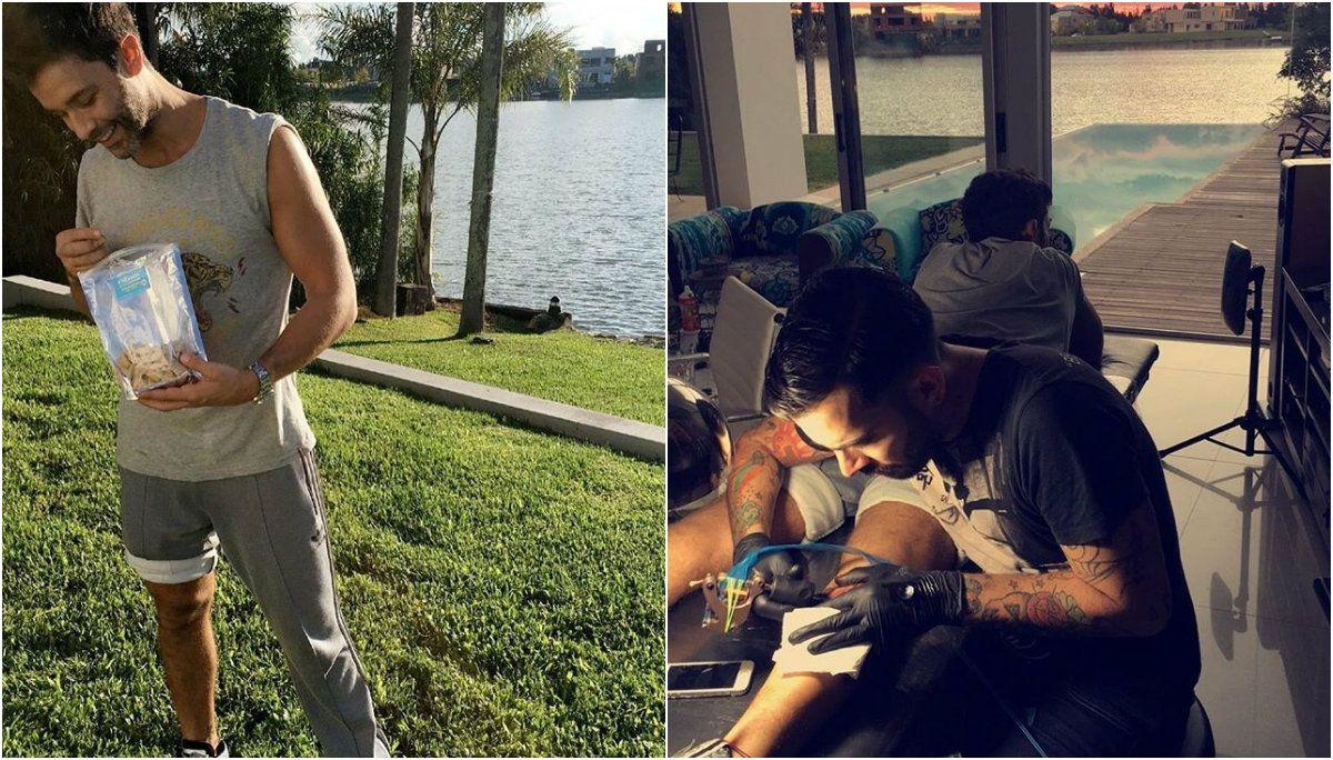 Qué significa cada palabra del nuevo tattoo de Mariano Martínez