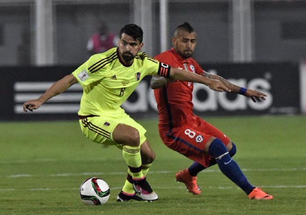 Con dos de Pinilla y dos de Vidal, Chile goleó a Venezuela en Barinas