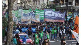 El sindicalismo evalúa hacer un paro en junio contra el veto de Mauricio Macri
