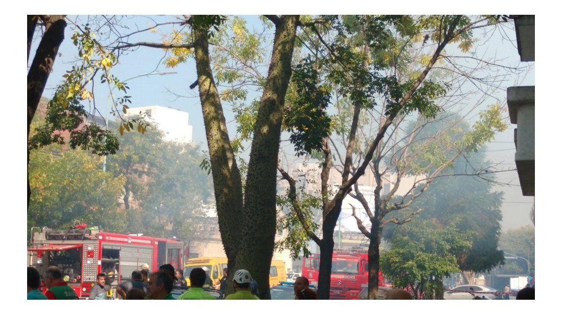 Explosión e incendio en un depósito de municiones: hay tres heridos