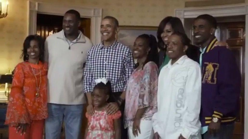 Obama le cumplió el sueño a una nena de 6 años que quería conocerlo