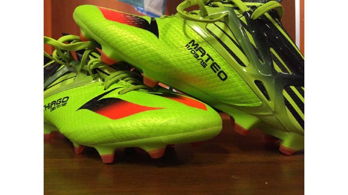 Mirá los botines que usará Messi ante Bolivia, dedicados a sus hijos
