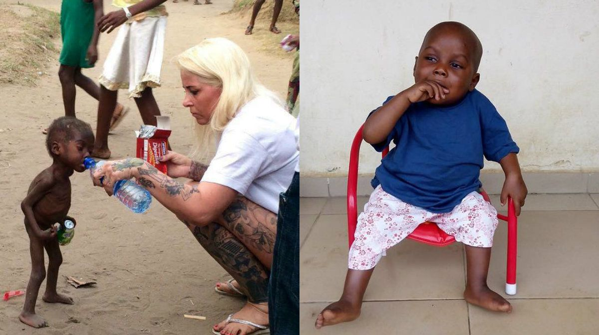 Así se encuentra hoy Hope, el niño abandonado en Nigeria por ser brujo