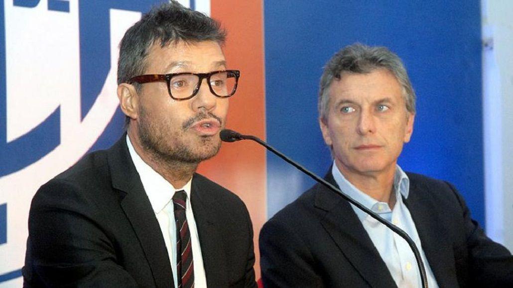 AFA: Macri recibió a Tinelli en la Quinta de Olivos