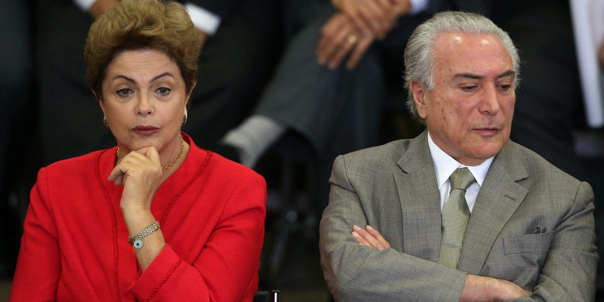 Se rompió la alianza de gobierno en Brasil y empeora la crisis política para Dilma Rousseff