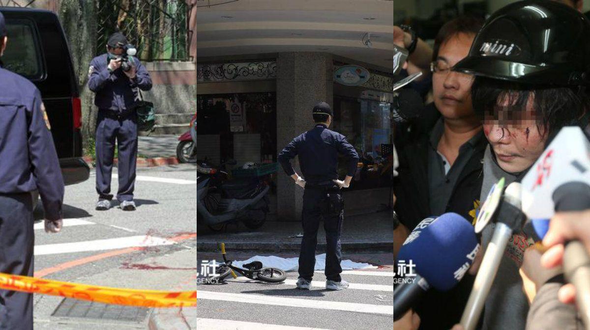 Taiwán: un hombre degolló a una niña de 4 años en la calle frente a su madre
