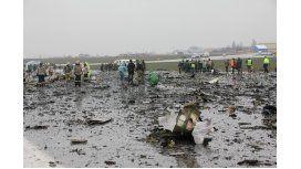 ¡Frena!: divulgan últimas palabras de pilotos de avión estrellado en Rusia
