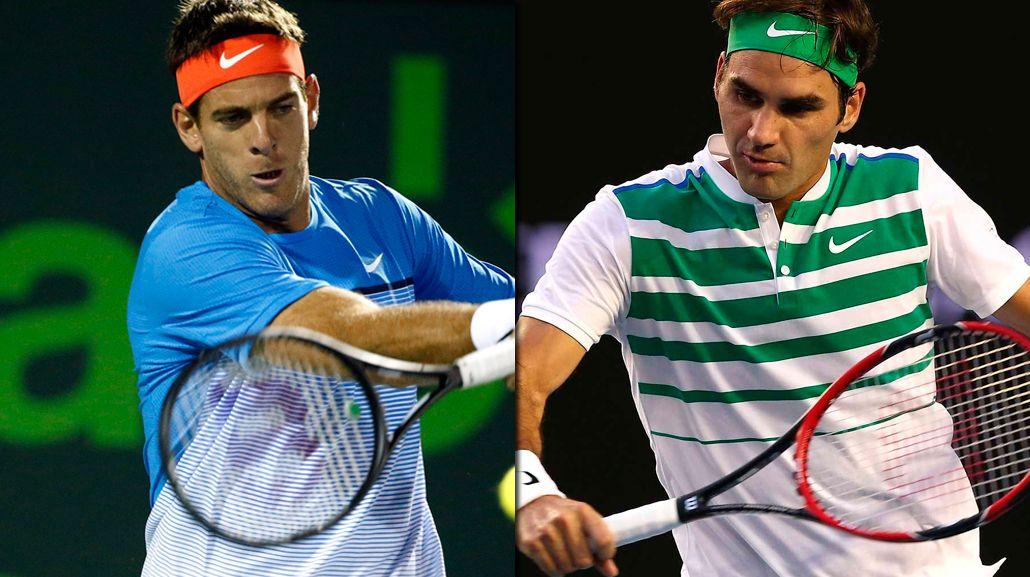<p>¿Será Federer el próximo rival de Delpo?</p>