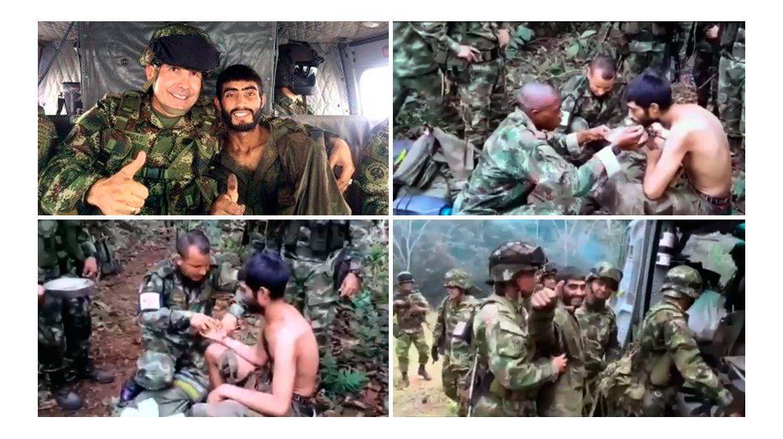 Comiendo tortugas y frutos, un soldado sobrevivió 23 días en la selva