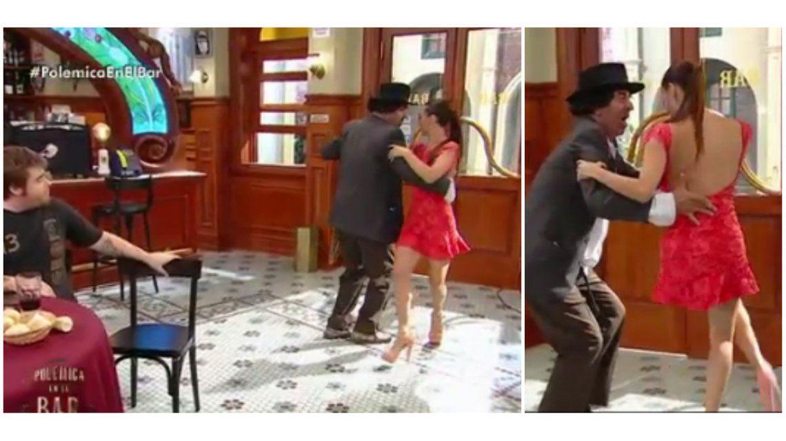 Después de  Obama, Mora Godoy bailó tango con Minguito
