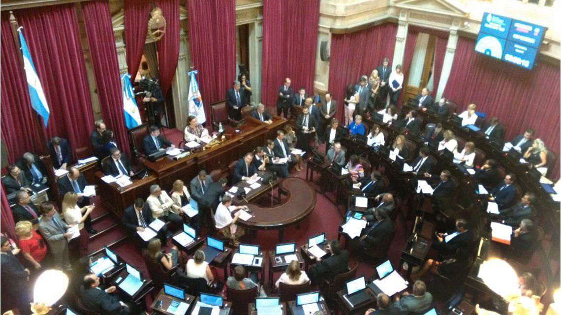 Senado: Negre de Alonso pidió modificar el proyecto de pago a buitres y estira el suspenso de su voto