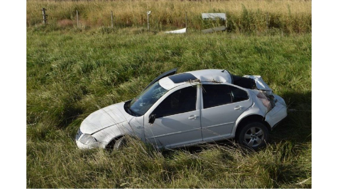 Una nena de 2 años murió en Olavarría tras un vuelco en la ruta 226