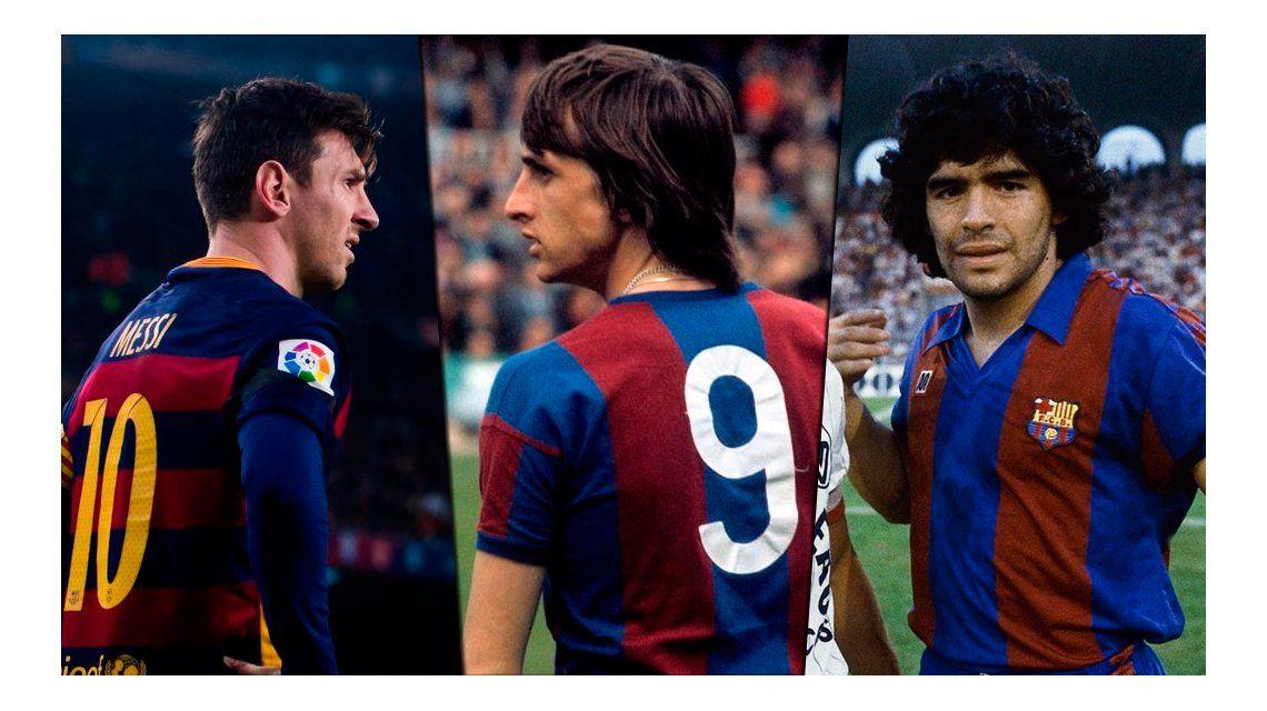 De cracks a crack: Maradona y Messi lamentaron la muerte de Cruyff