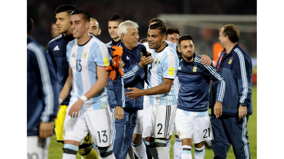 El triunfo de Argentina ante Chile
