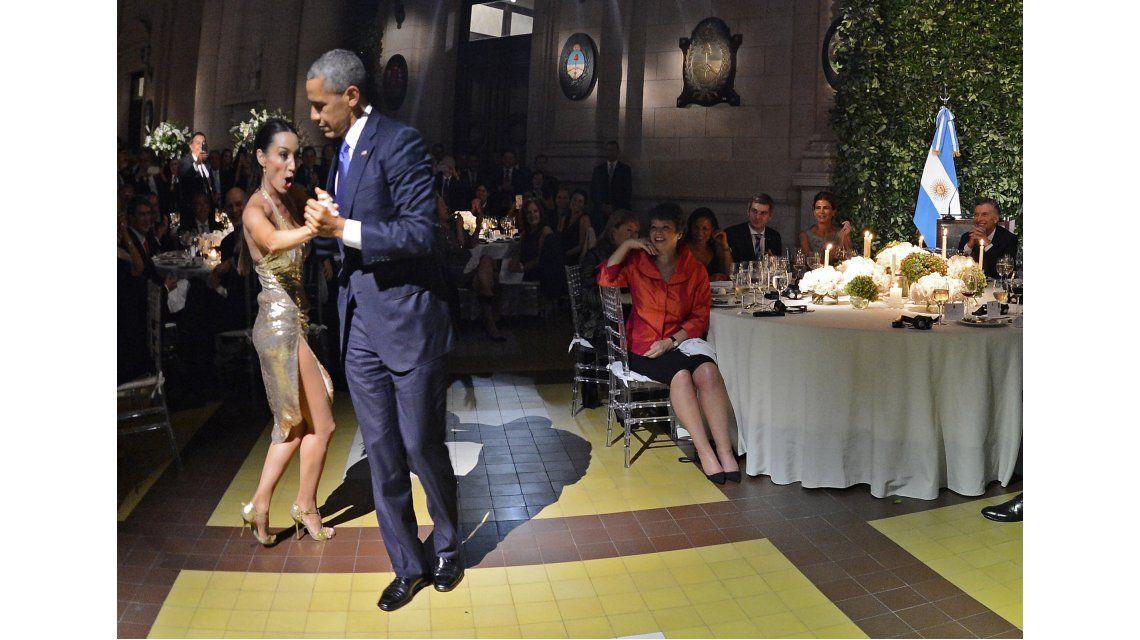 Mora Godoy tras bailar tango con Obama: Creo que él tenía miedo a que yo...
