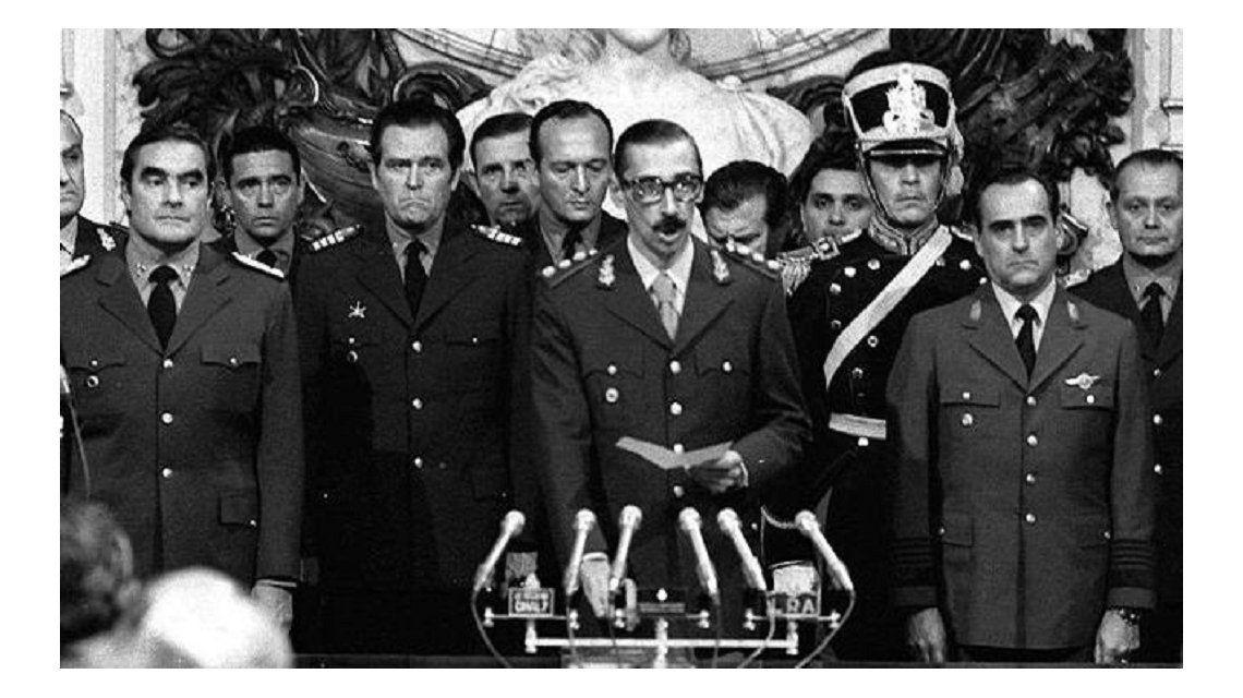 Actos y marchas a 40 años del último golpe cívico militar