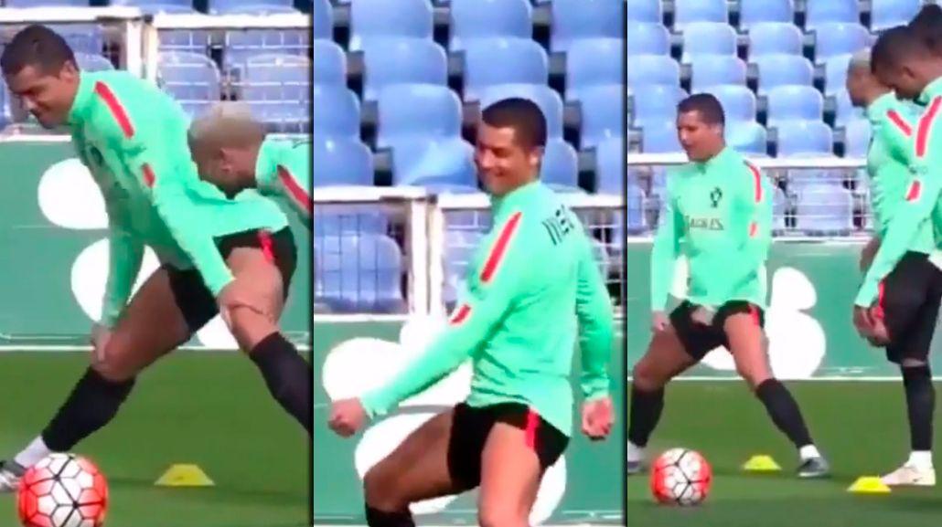 Cristiano Ronaldo dejó a todos con la boca abierta con este polémico baile