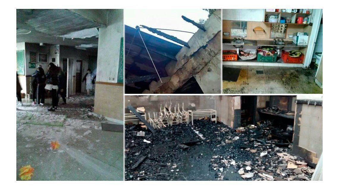 Aberrante: robaron e incendiaron un jardín de infantes en González Catán