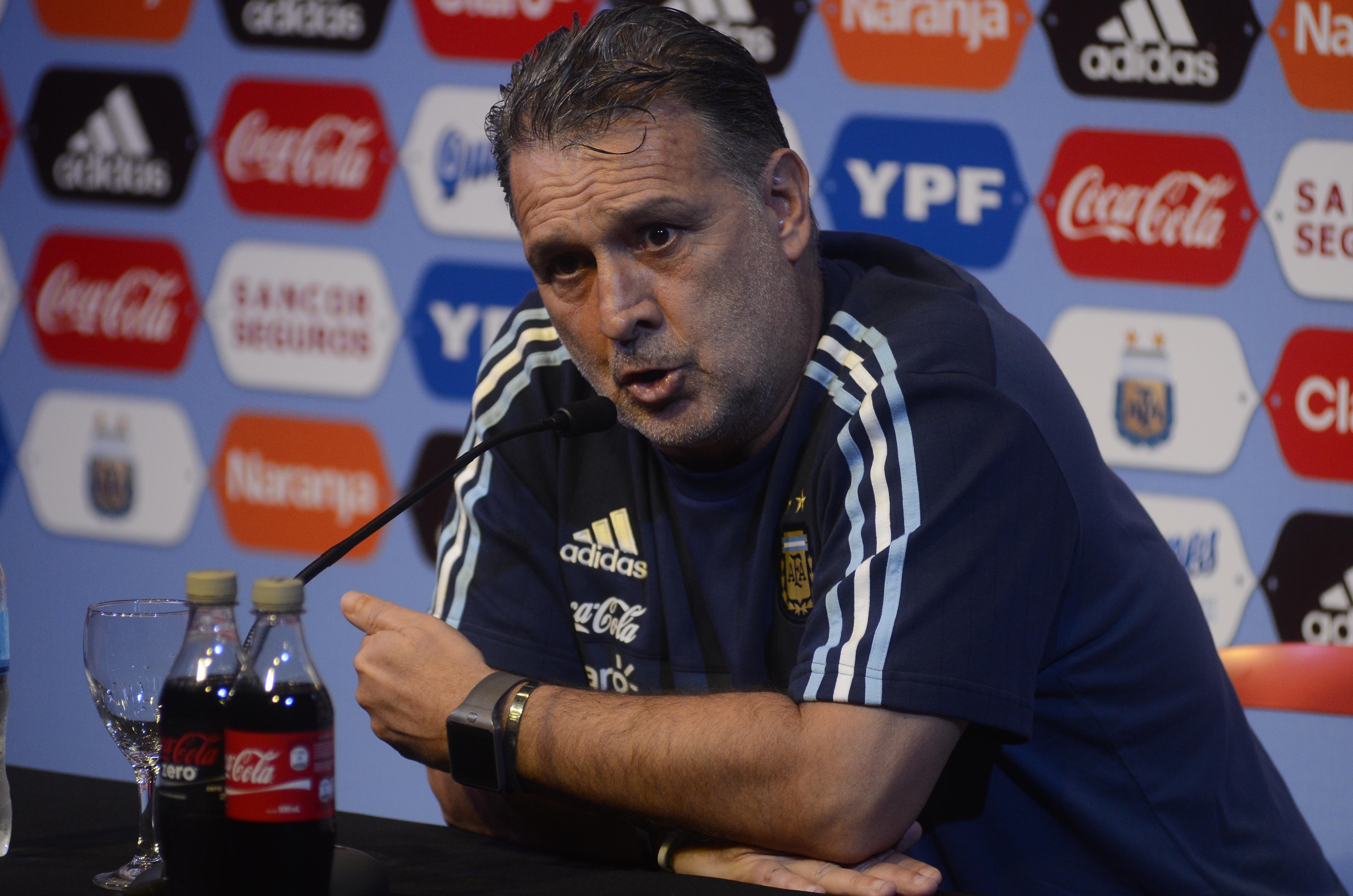Martino: Si tenemos un resultado positivo ante Bolivia, vamos a ir más tranquilos a la Copa América