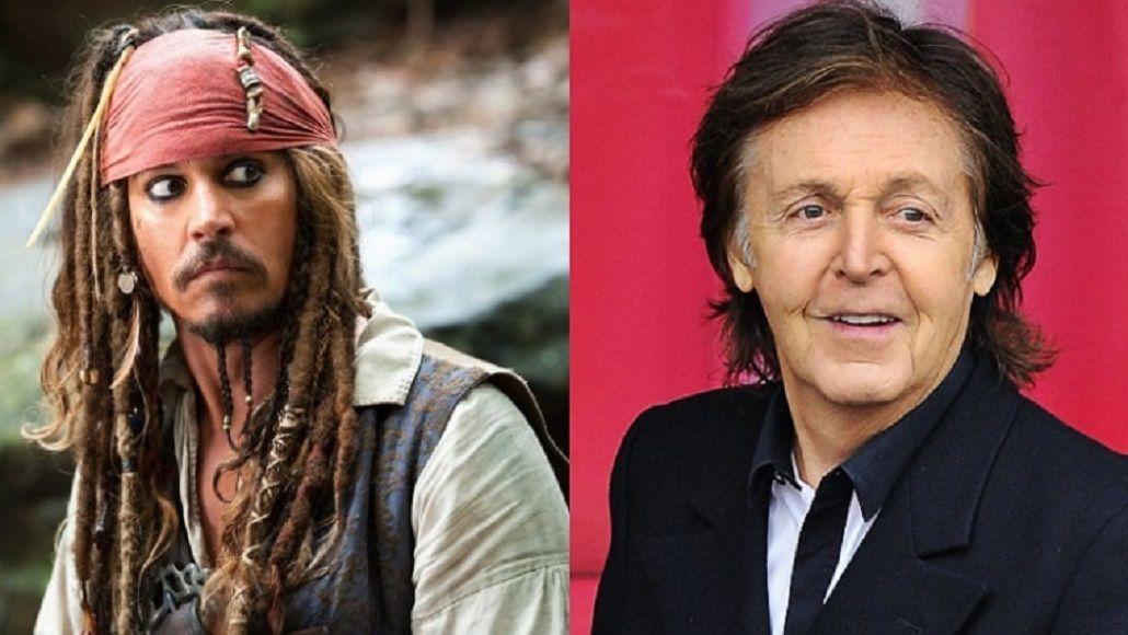 Paul McCartney se sube al barco de Piratas del Caribe