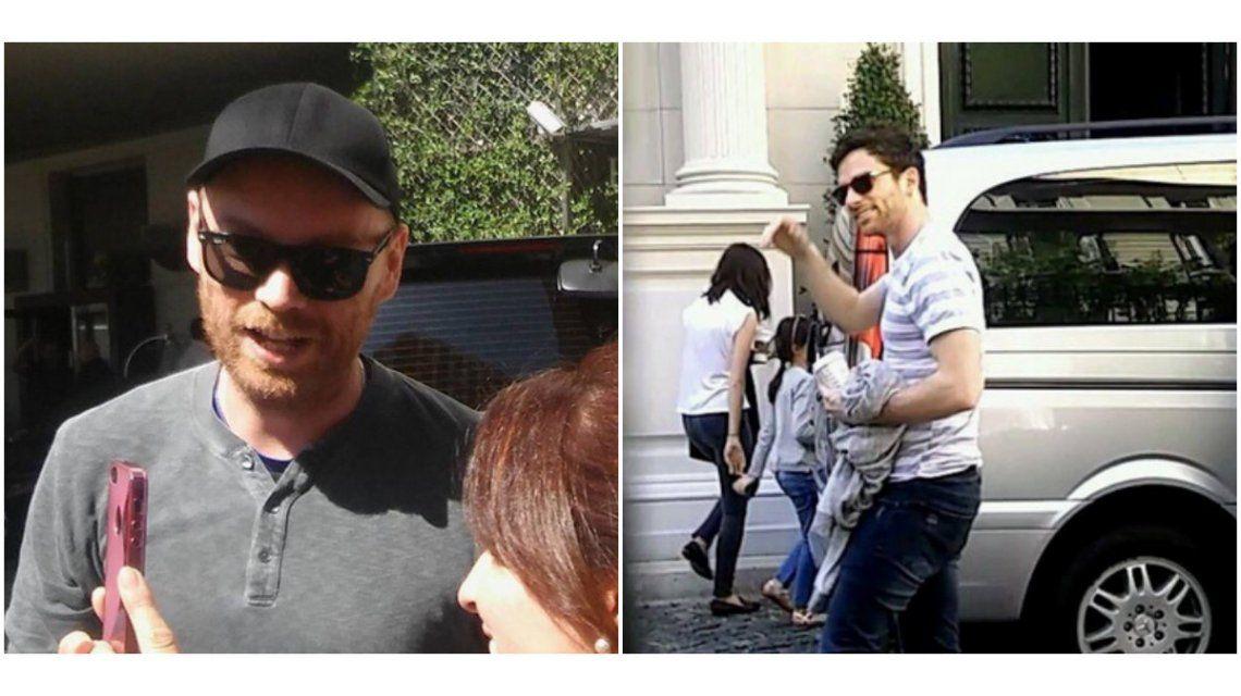 Las primeras fotos de Coldplay en la Argentina