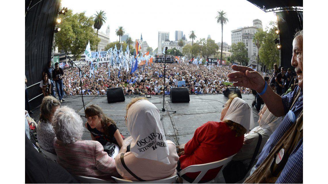 Duro discurso de organizaciones de DD.HH. contra Macri, al cumplirse 40 años del Golpe
