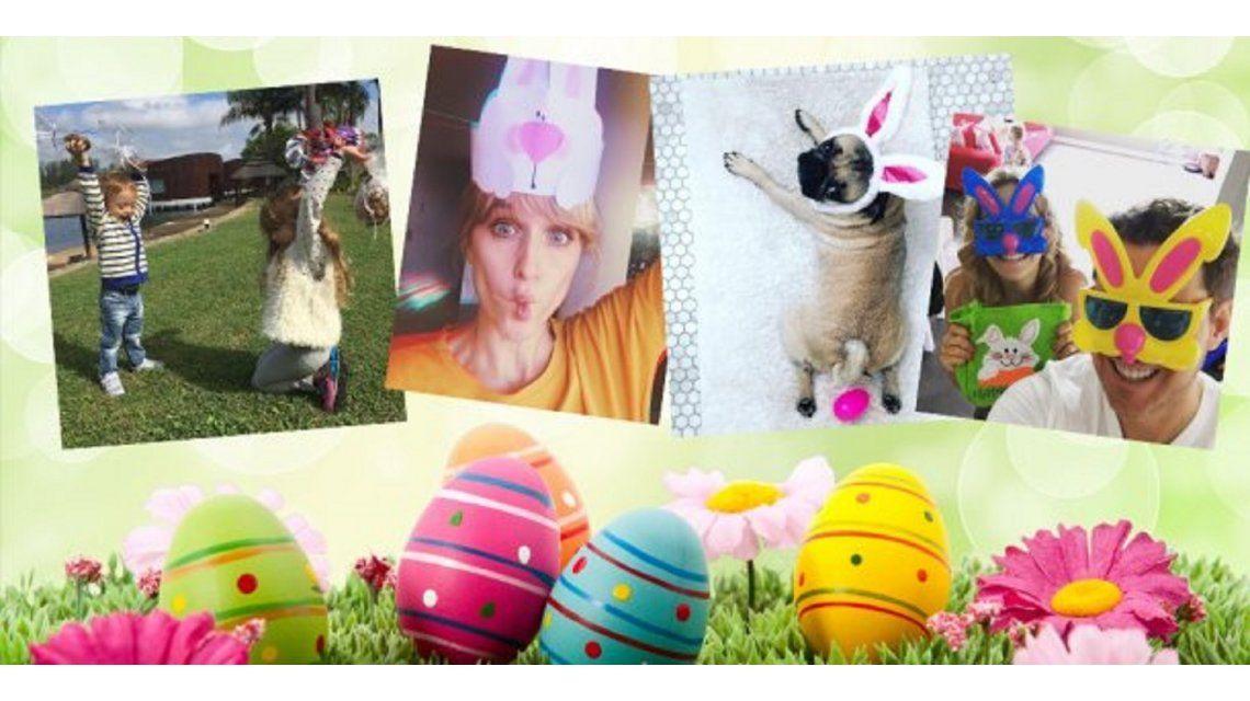 Las fotos de los famosos festejando las Pascuas