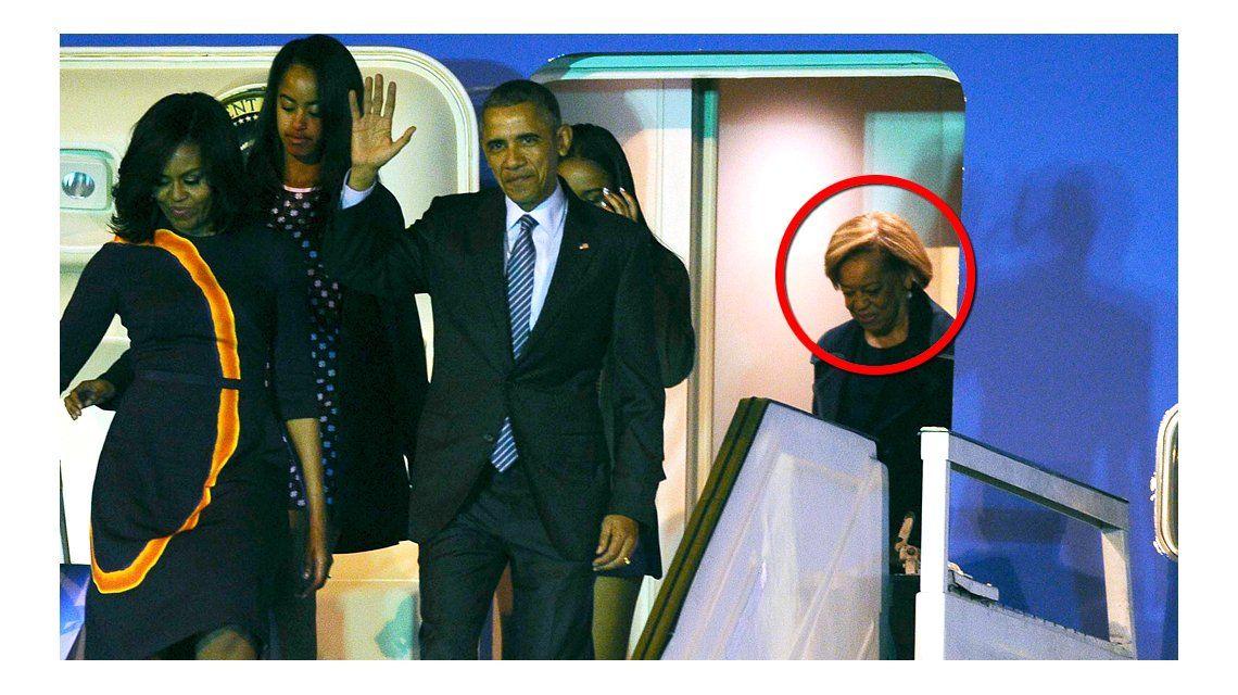 Obama viajó con su suegra y las bromas estallaron en las redes sociales