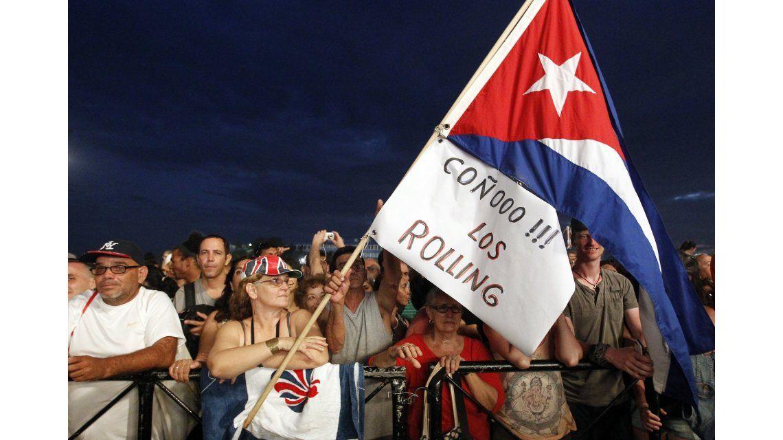 Las fotos del histórico show de los Rolling Stones en Cuba