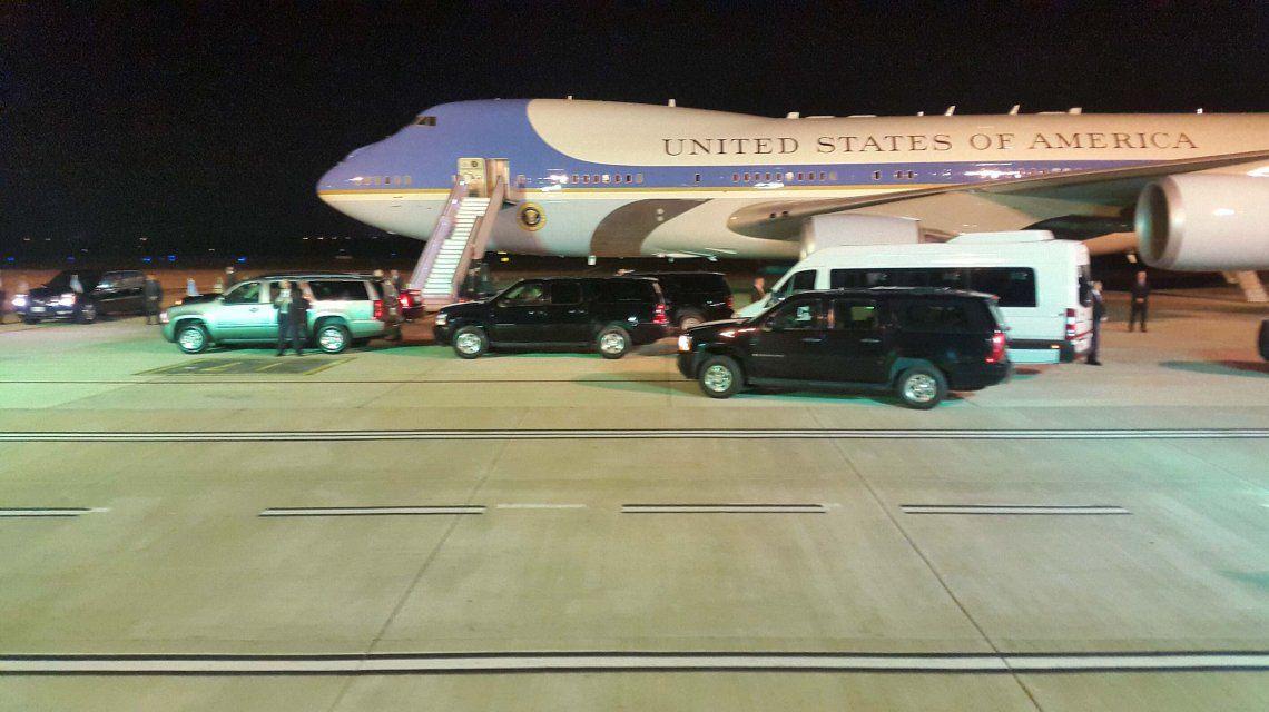 Terminó la histórica visita: Obama partió rumbo a Estados Unidos